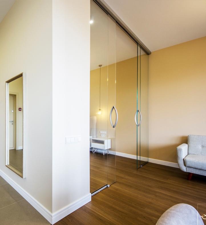 Раздвижные двери и перегородки Dorma Agile 150